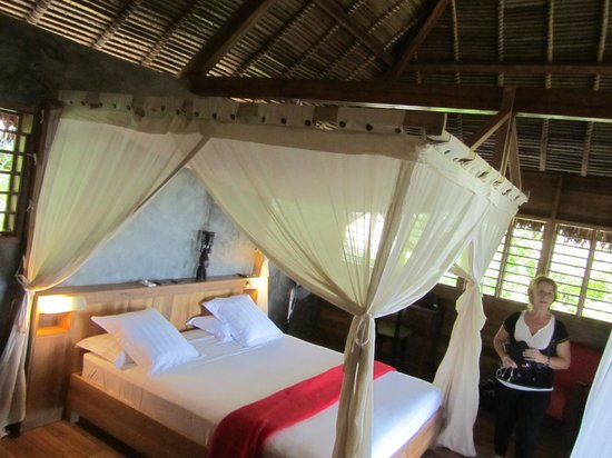Tsara Komba Luxury Beach Forest Lodge: notre chambre