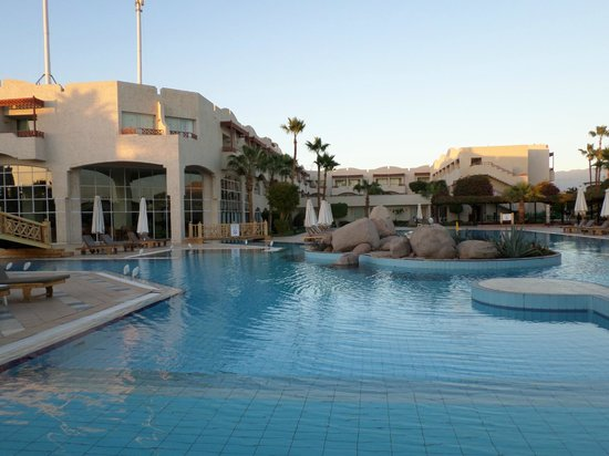 Sharm El Sheikh Marriott Resort: la seconda piscina lato beach