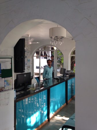 The Tamarind Hotel: The very sweet and caring front office man at the tamarind