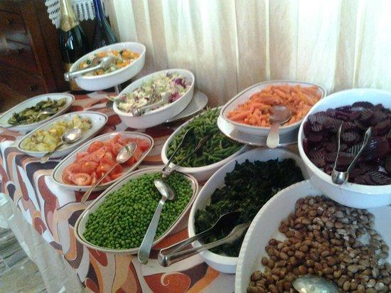 Trattoria Baioni 45: buffet contorni pranzo di lavoro