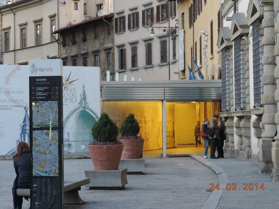 Museo dell'Opera del Duomo : Temporary entrance