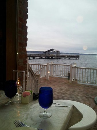 Belmont Restaurant & Saloon: The view from our table