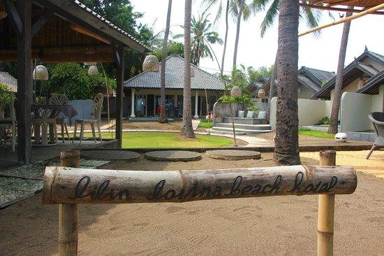 Lilin Lovina Beach Hotel: Signboard