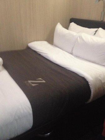 The Z Hotel Soho: amazingly comfy bed!