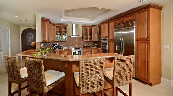 The Landmark Resort of Cozumel : hermosa cocina integral