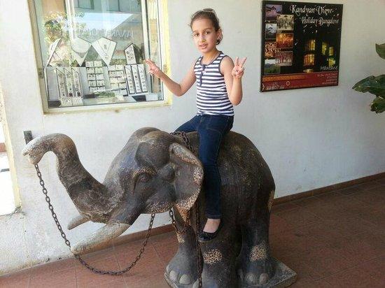 Hotel Elephant Park: My daughter