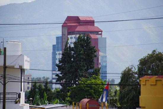 Meliá Santiago de Cuba: vue de la place de la révolution