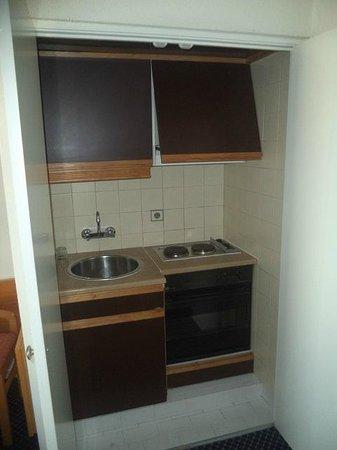 Sinerama Hotel Apartamento: Cooking alcove