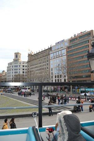 Olivia Plaza Hotel: Plaza Catalunya