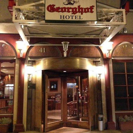 Georghof Hotel Berlin: entrata hotel