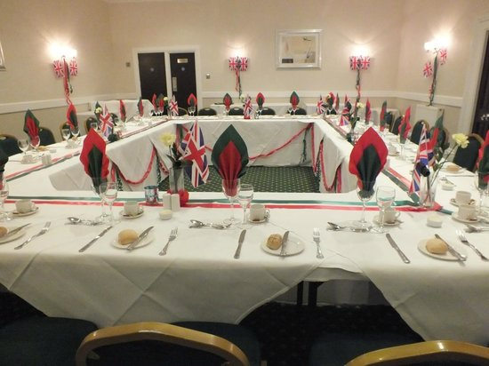 The Imperial Hotel: Another view of our table setting