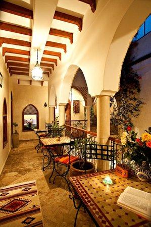 Riad Zen House : Balcon