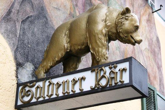 Goldener Bär: Da gehts rein!