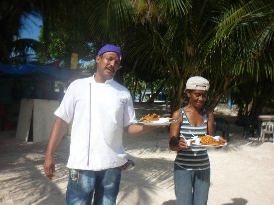 Rocky Cay : El cocinero