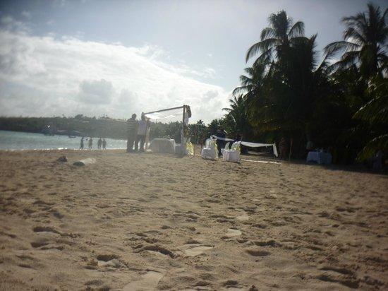 Rocky Cay : Un matrimonio en la playa Uff
