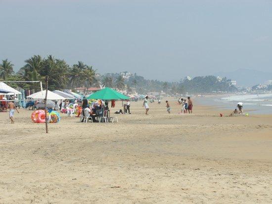 Playa Miramar: Palapa's