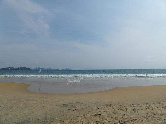 Playa Miramar: Warm Water