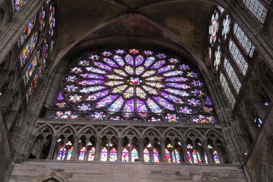 Basilica Cathedral of Saint-Denis: St. Denis Basilica rose window