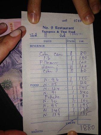 No 9 Restaurant : best food ,best price :)