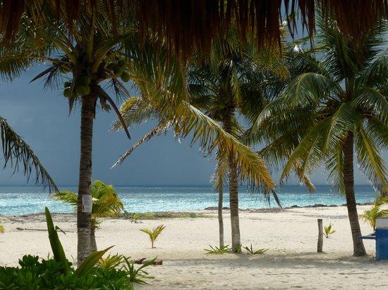 Eco Cabanas Pirata Morgan : Marejada en llegada