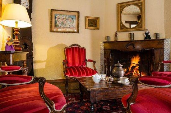 Auberge de Cassagne : El salón de té