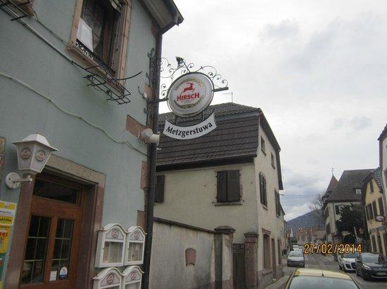 Metzgerstuwa : fachada do restaurante