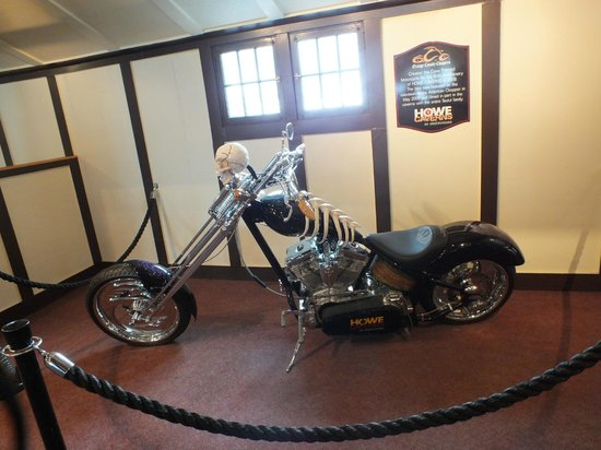 Howe Caverns: Orange County Chopper located in the lobby