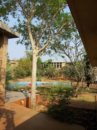 Our Native Village: Spa and Swimming pool area