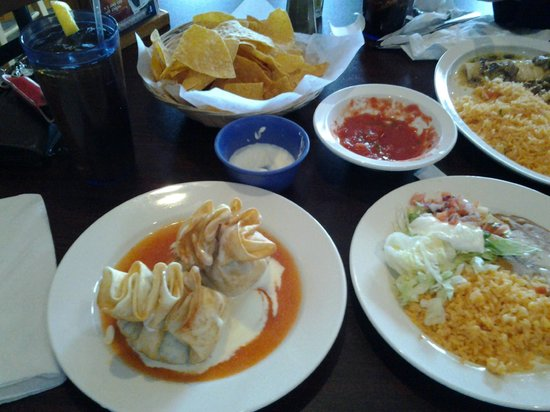 Guads on Granby St: THE BEST CHIMICHANGA ON EARTH