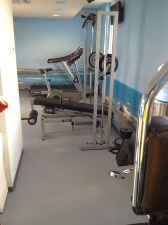 Hotel Berlin Mitte By Melia : Smith and some cardio equipment