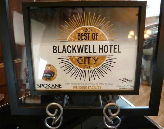 Blackwell Hotel: Hotel Rating - Not a surprise!