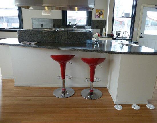 Blackwell Hotel : Ultra-modern kitchen
