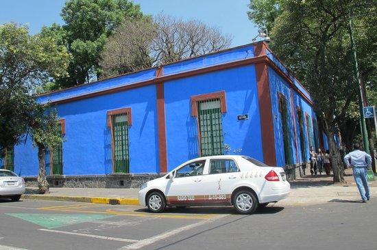 Musée Frida Kahlo : The caza azul
