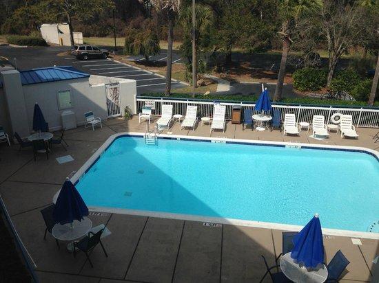 Days Inn Hilton Head : Pool view
