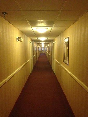 Days Inn Hilton Head : Hallway