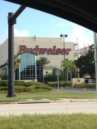 Budweiser Brewery Tours : Front