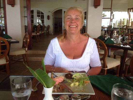 Mango Bay All Inclusive: Another lovely meal