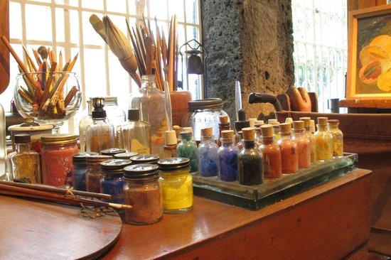 Musée Frida Kahlo : The study room 2