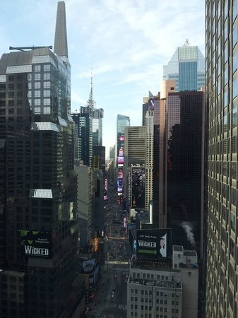 Novotel New York Times Square : View from room 3005