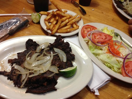 Marios Family Restaurant: fried beef