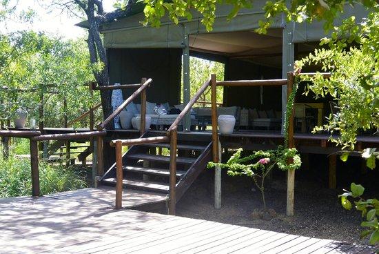 Ngama Tented Safari Lodge: Main tent