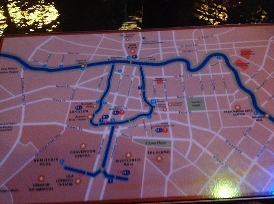 River Walk : Riverwalk Map