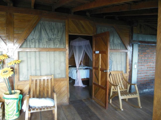 Hacienda Merida: Room entrance