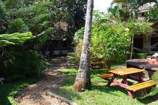Vrindavanam Heritage Home: Chill-Bereich