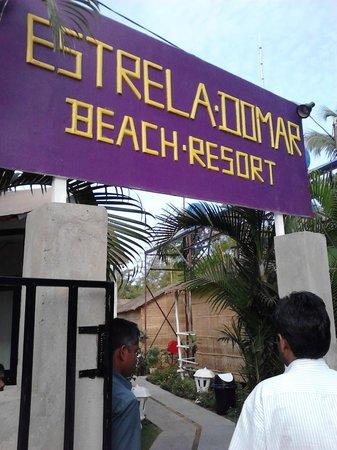 Estrela Do Mar Beach Resort : Entry View