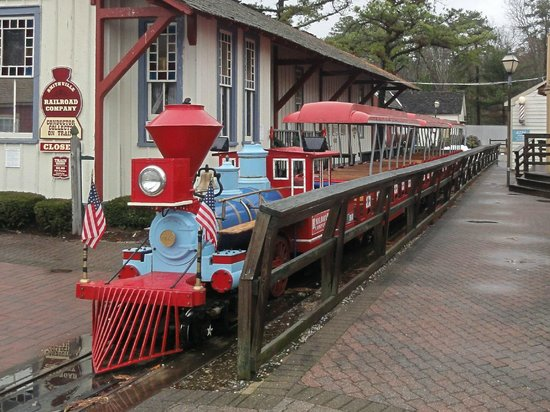 Historic Smithville and Village Greene: All Aboard!