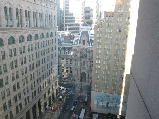Philadelphia Marriott Downtown: view from 21st floor
