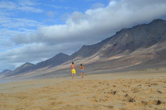 Playa de Cofete: Paisaje