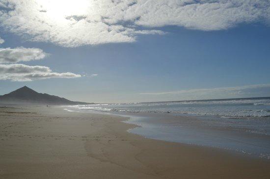 Playa de Cofete: Mar