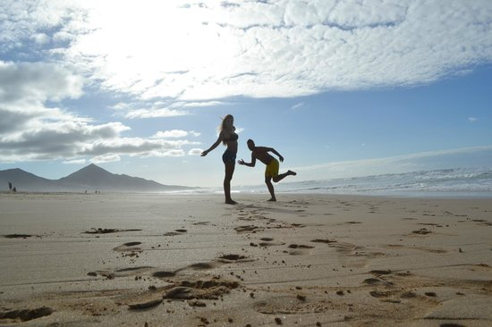 Playa de Cofete: Atardecer